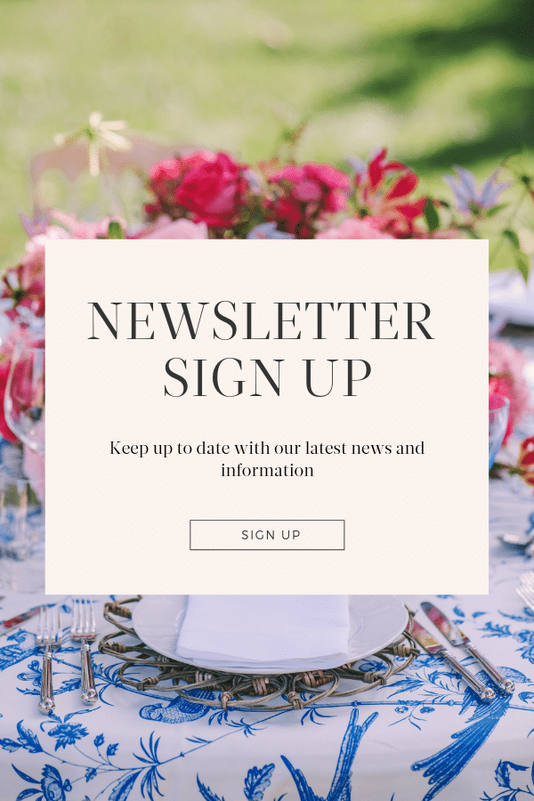 Sign up for our Love4weddings PRO newsletter