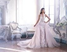 Γοργονε νυφικο φορεμα Demetrios
