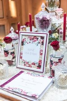 Ιδεες διακοσμησης για dessert table