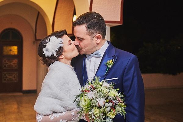 4b270c2bda15 Ομορφος χειμωνιατικος γαμος με vintage υφος