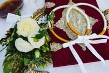 Μοντερνα στεφανα γαμου
