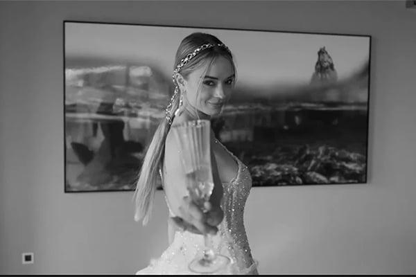 0d8988d15633 Μαγευτικo βιντεο με ονειρικες δημιουργιες | Victoria Kyriakides Spring 2020  Bridal Collection