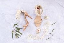 Πανεμορφα μπεζ νυφικα παπουτσια