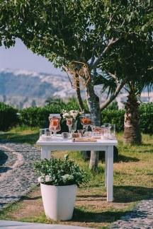 Υπεροχο welcome table
