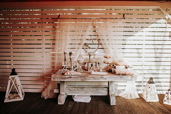 Ομορφο welcome table